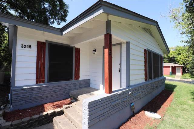 3215 W Fuller Avenue, Fort Worth, TX 76133 (MLS #14235847) :: RE/MAX Town & Country