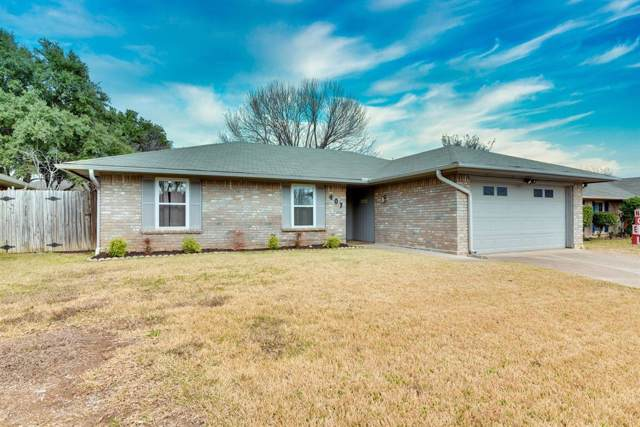 407 Catalpa Lane, Euless, TX 76039 (MLS #14235868) :: RE/MAX Town & Country