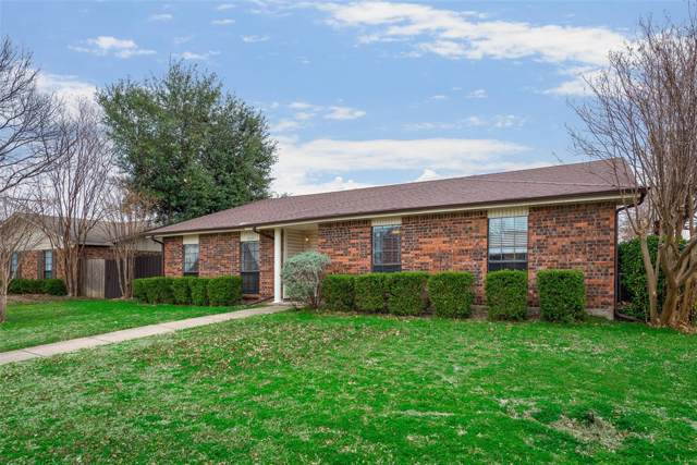 1112 Lombardy Drive, Plano, TX 75023 (MLS #14235886) :: Hargrove Realty Group