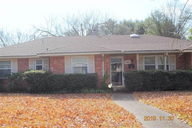 944 Birchwood Drive, Lancaster, TX 75146 (MLS #14235940) :: Van Poole Properties Group