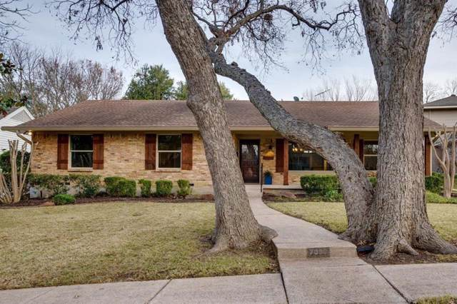 7030 Winchester Street, Dallas, TX 75231 (MLS #14235984) :: The Chad Smith Team