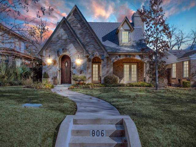 806 Clermont Avenue, Dallas, TX 75223 (MLS #14236001) :: Baldree Home Team