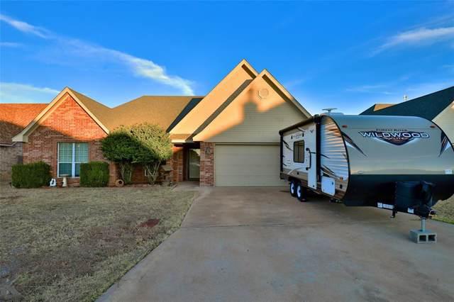 7917 Tuscany Drive, Abilene, TX 79606 (MLS #14236021) :: Team Tiller
