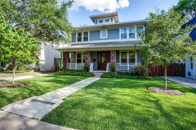 5632 Miller Avenue, Dallas, TX 75206 (MLS #14236034) :: The Kimberly Davis Group