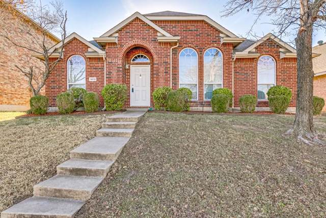 1413 Heather Brook Drive, Allen, TX 75002 (MLS #14236053) :: RE/MAX Town & Country