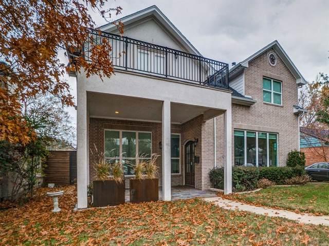 3603 S Versailles Avenue, Dallas, TX 75209 (MLS #14236295) :: Robbins Real Estate Group