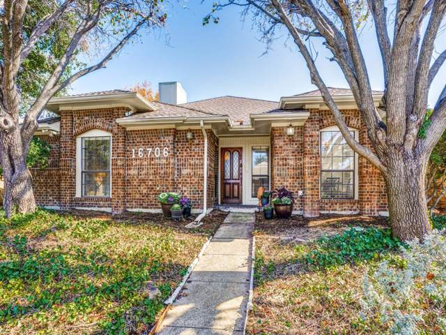 16706 Cleary Circle, Dallas, TX 75248 (MLS #14236303) :: The Kimberly Davis Group