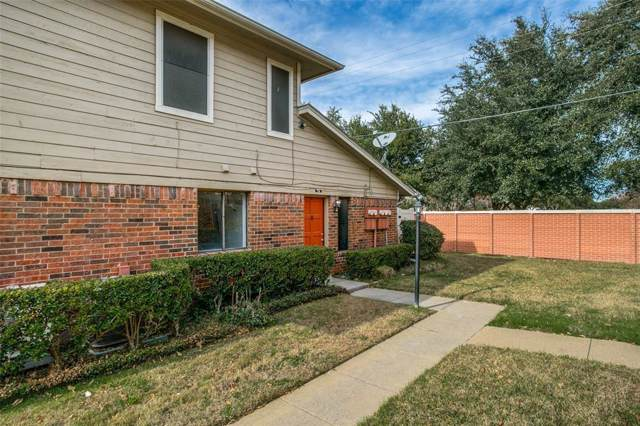 2240 Tarpley Road #74, Carrollton, TX 75006 (MLS #14236368) :: The Tierny Jordan Network