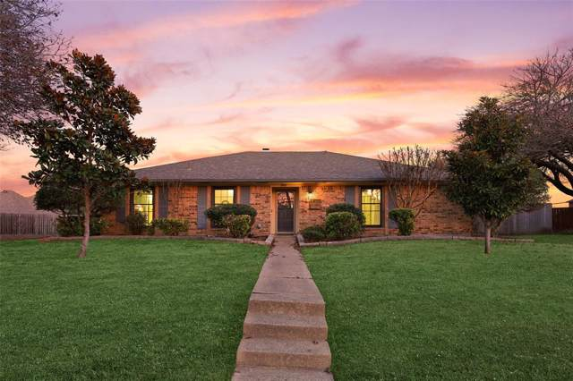 1803 Yale Place, Richardson, TX 75081 (MLS #14236373) :: Tenesha Lusk Realty Group