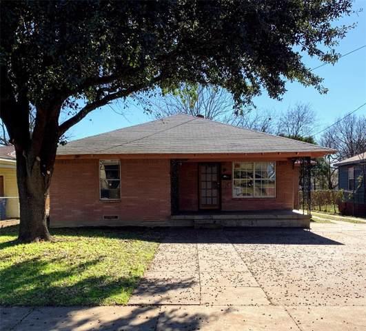 3838 Dutton Drive, Dallas, TX 75211 (MLS #14236438) :: The Kimberly Davis Group