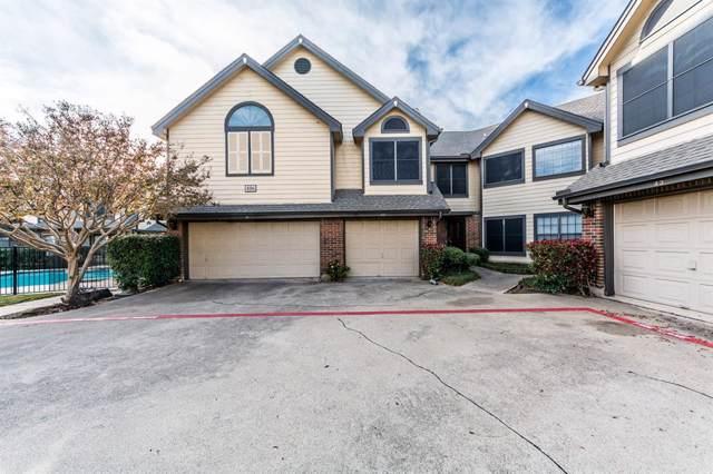 406 Santa Fe Trail #42, Irving, TX 75063 (MLS #14236586) :: Caine Premier Properties