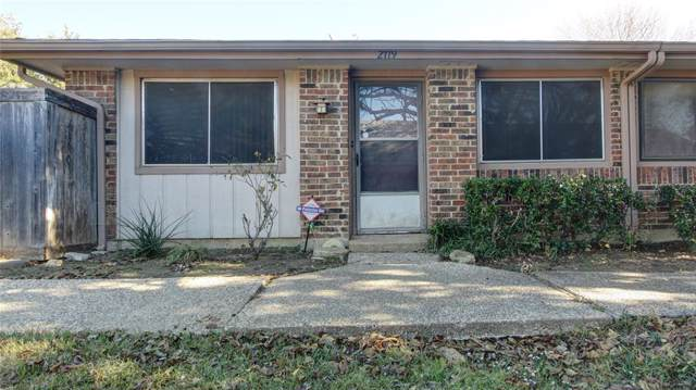 2719 Stonehaven Court, Irving, TX 75038 (MLS #14236760) :: All Cities Realty