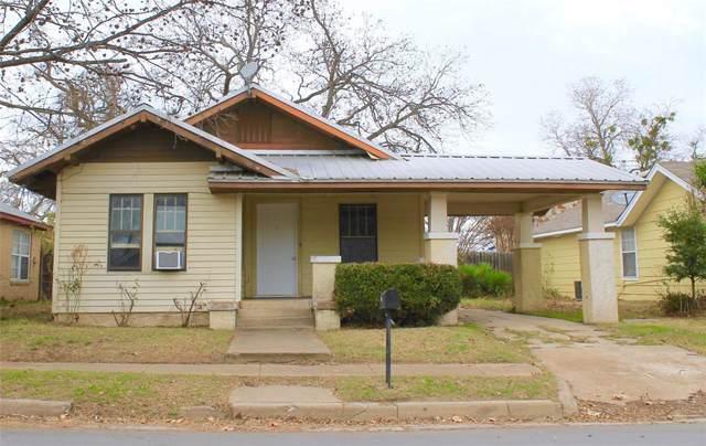 751 W Tarleton Street, Stephenville, TX 76401 (MLS #14236780) :: The Kimberly Davis Group
