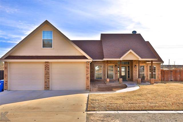 205 Paisano Drive, Clyde, TX 79510 (MLS #14236806) :: Frankie Arthur Real Estate
