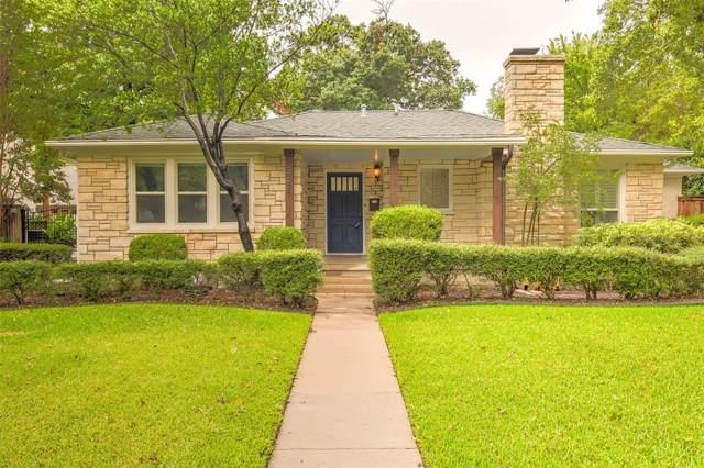 3627 W Biddison Street, Fort Worth, TX 76109 (MLS #14236848) :: The Tierny Jordan Network