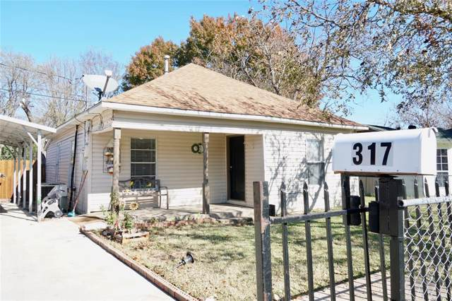 317 James Street, Terrell, TX 75160 (MLS #14236854) :: RE/MAX Town & Country