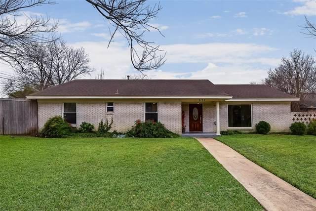 3152 Silverton Drive, Dallas, TX 75229 (MLS #14236908) :: RE/MAX Town & Country