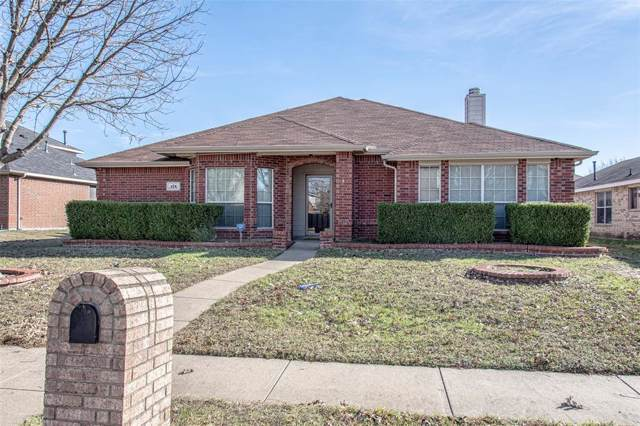 475 Sunnyside Drive, Lancaster, TX 75146 (MLS #14236922) :: Tenesha Lusk Realty Group