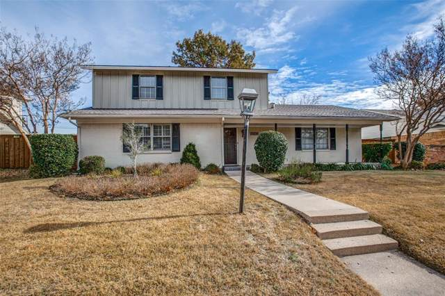 15836 Spring Creek Road, Dallas, TX 75248 (MLS #14236923) :: The Kimberly Davis Group