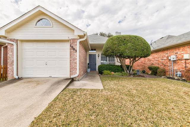 1003 Mack Place, Denton, TX 76209 (MLS #14236939) :: Trinity Premier Properties
