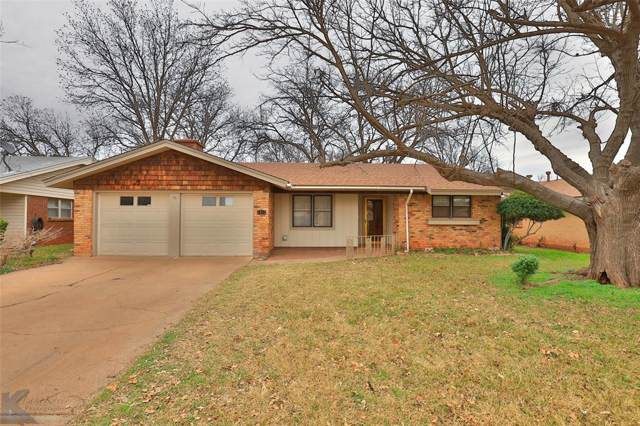 1917 Glendale, Abilene, TX 79603 (MLS #14236974) :: The Chad Smith Team