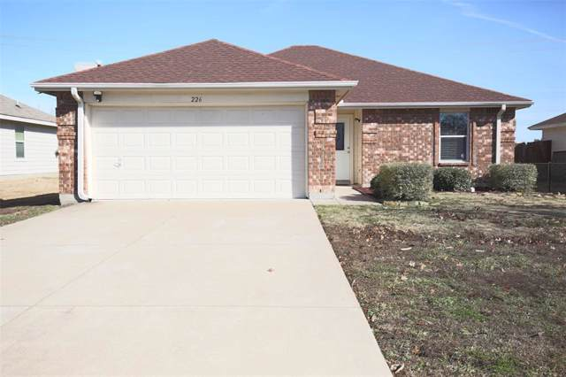 226 Meadowcrest Drive, Terrell, TX 75160 (MLS #14237018) :: The Good Home Team