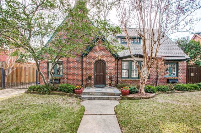 5538 Mercedes Avenue, Dallas, TX 75206 (MLS #14237030) :: Baldree Home Team