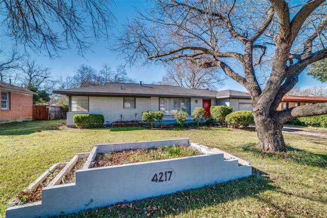 4217 Vance Road, North Richland Hills, TX 76180 (MLS #14237215) :: RE/MAX Town & Country