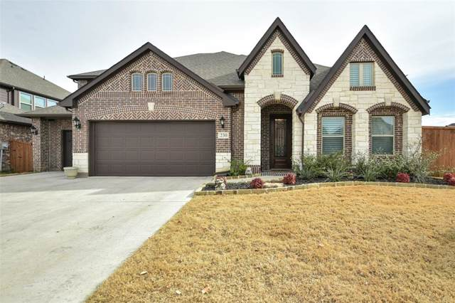 230 Spruce Valley Drive, Justin, TX 76247 (MLS #14237257) :: The Kimberly Davis Group