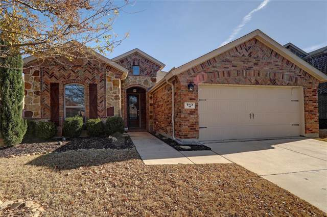 913 Green Coral Drive, Little Elm, TX 75068 (MLS #14237326) :: Robbins Real Estate Group