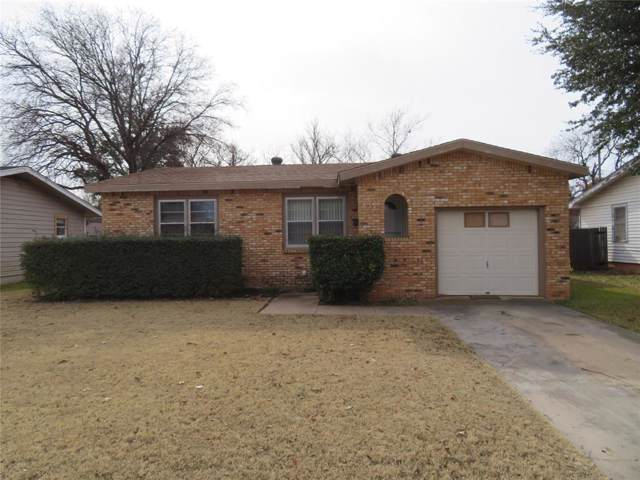 3585 N 9th Street, Abilene, TX 79603 (MLS #14237353) :: The Chad Smith Team