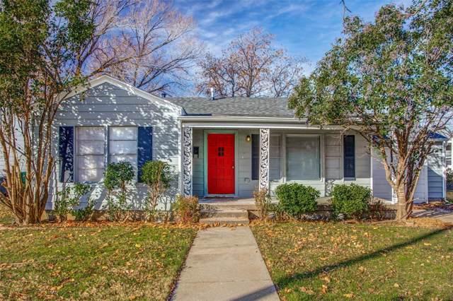 2309 Bonnie Brae Avenue, Fort Worth, TX 76111 (MLS #14237381) :: NewHomePrograms.com LLC