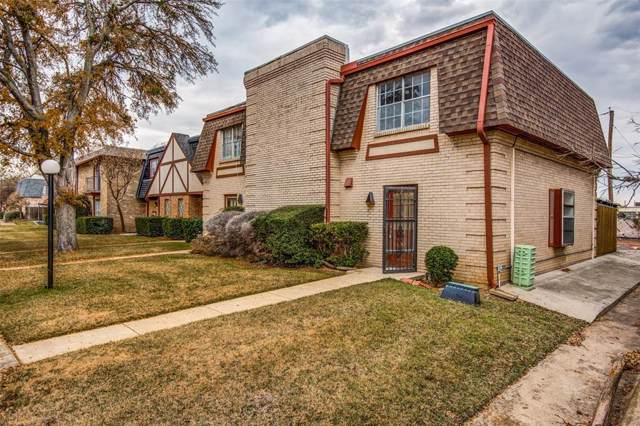 1817 E Grauwyler Road #161, Irving, TX 75061 (MLS #14237393) :: RE/MAX Town & Country