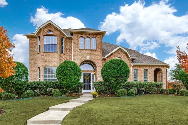 732 Saddlebrook Drive, Frisco, TX 75036 (MLS #14237402) :: Team Tiller