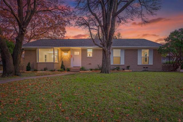 911 Fernwood Drive, Richardson, TX 75080 (MLS #14237446) :: Tenesha Lusk Realty Group