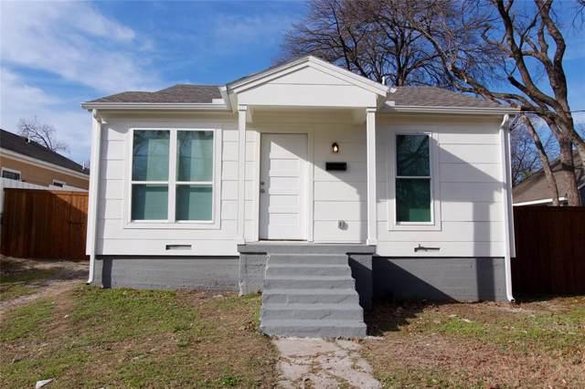 1411 Adelaide Drive, Dallas, TX 75216 (MLS #14237454) :: The Kimberly Davis Group