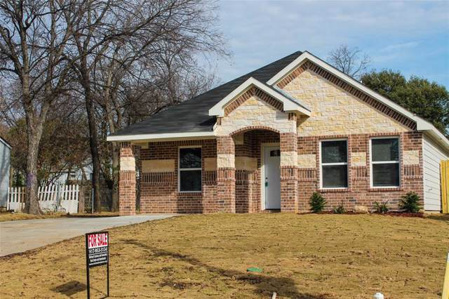 817 E Shaw Street, Fort Worth, TX 76110 (MLS #14237533) :: The Tierny Jordan Network