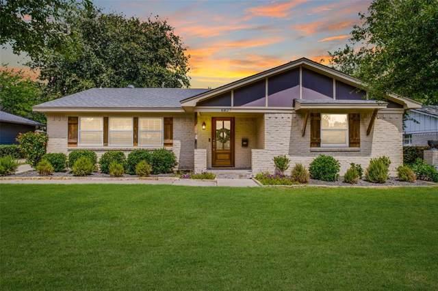 6827 Kingsbury Drive, Dallas, TX 75231 (MLS #14237554) :: Team Tiller