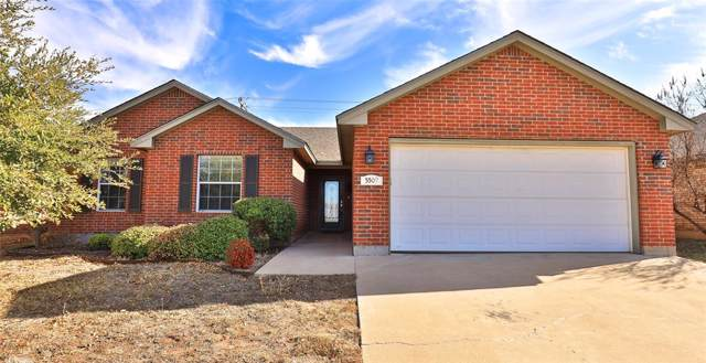 5509 Yellow Brick Road, Abilene, TX 79606 (MLS #14237641) :: RE/MAX Town & Country