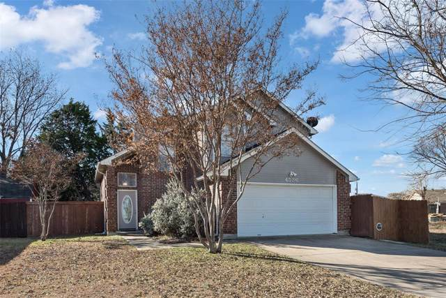 4536 N Shore Drive, The Colony, TX 75056 (MLS #14237645) :: Caine Premier Properties