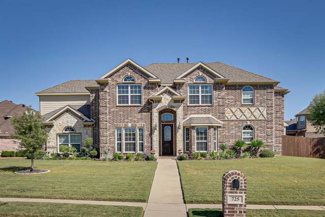 725 Lakewood Drive, Kennedale, TX 76060 (MLS #14237676) :: The Kimberly Davis Group