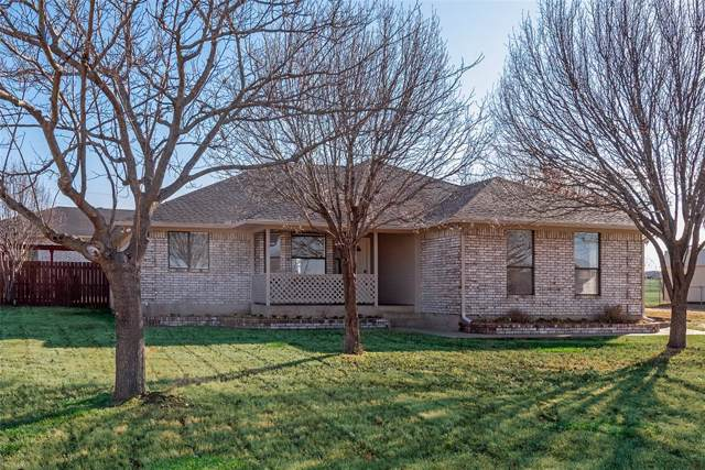 9037 Cripple Creek Court, Sanger, TX 76266 (MLS #14237724) :: Dwell Residential Realty