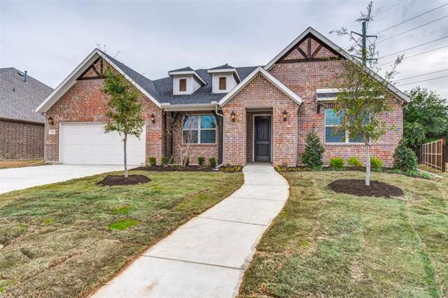 2809 N Sandstone Drive, Hurst, TX 76054 (MLS #14237905) :: The Chad Smith Team