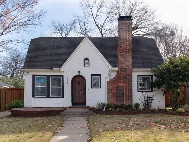 818 Thomasson, Dallas, TX 75208 (MLS #14237945) :: Ann Carr Real Estate