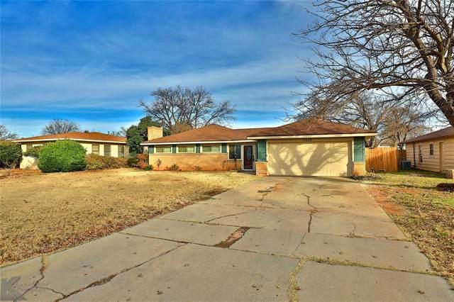 4310 S 6th Street, Abilene, TX 79605 (MLS #14237993) :: The Hornburg Real Estate Group