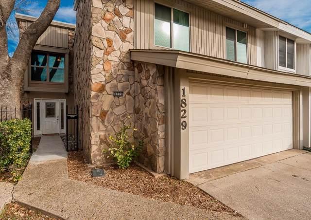 1829 Lakecrest Circle, Carrollton, TX 75006 (MLS #14238036) :: The Mitchell Group