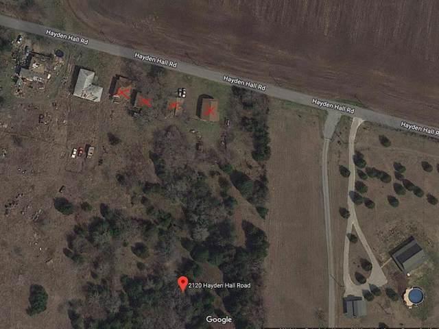 2120 Hayden Hall Road, Bells, TX 75414 (MLS #14238068) :: Dwell Residential Realty