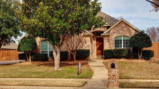 2408 Bachman Drive, Flower Mound, TX 75028 (MLS #14238126) :: Dwell Residential Realty