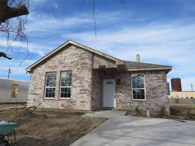 127 Peacock Street, Cleburne, TX 76031 (MLS #14238149) :: The Rhodes Team