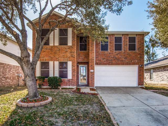 2216 Chestnut Drive, Little Elm, TX 75068 (MLS #14238224) :: All Cities Realty